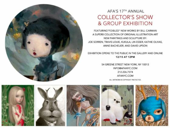AFA 17th ANNUAL COLLECTOR´S SHOW & GROUP EXHIBITION